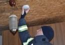 Apie gaisrą bute gyventojus perspėjo dūmų detektorius