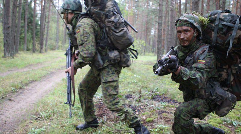 Kaišiadorių rajone – karinės pratybos